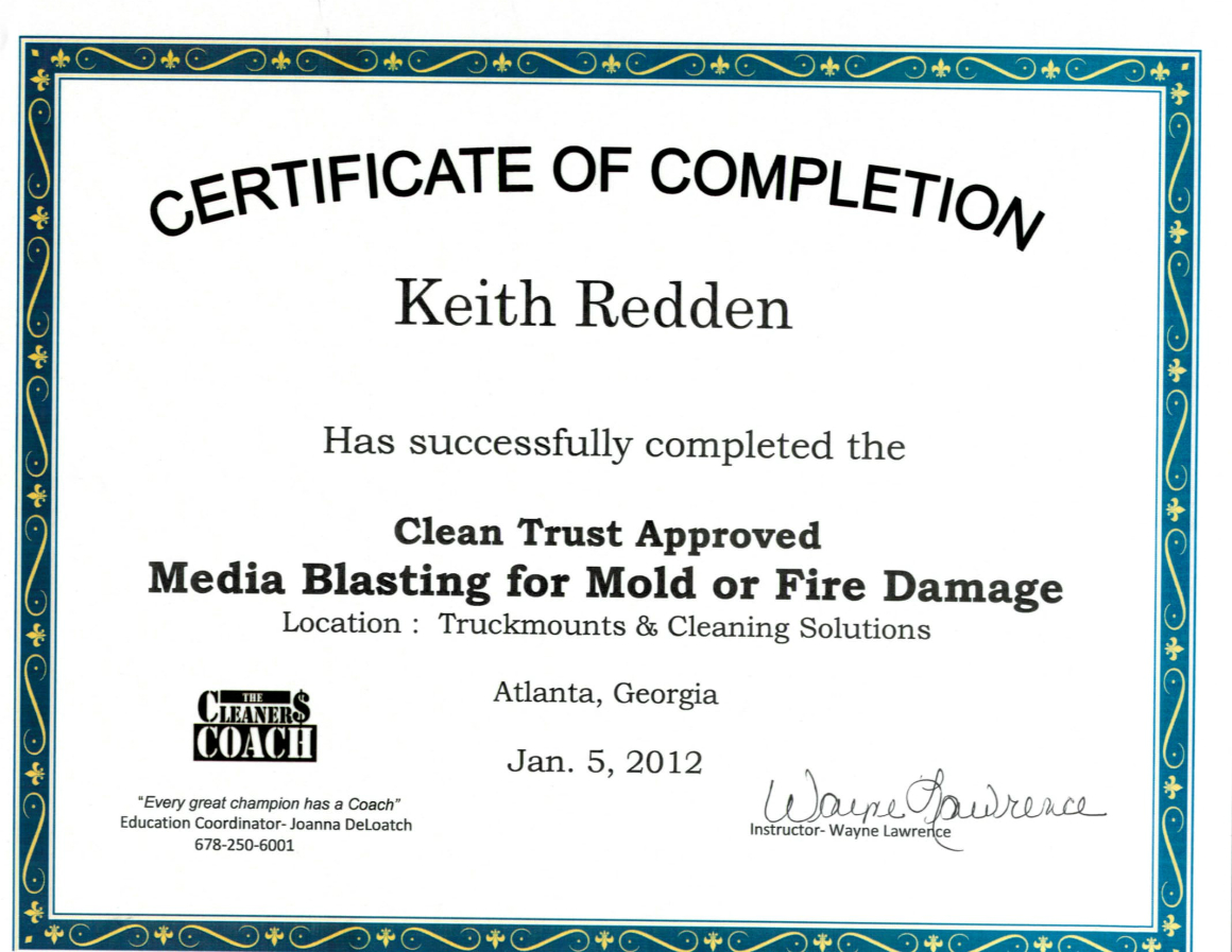 Mold Remediation Certification For Mold Remediation